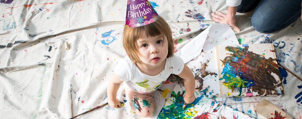 birthday parties mean art workshops