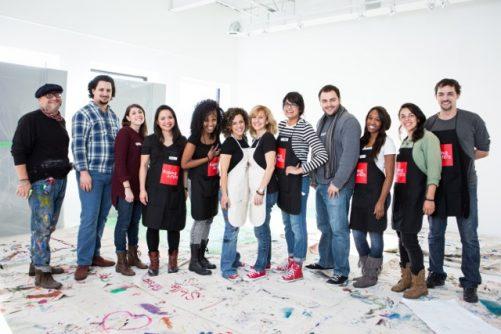 The Raising Artists Team