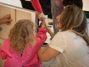 private workshops with parent and child